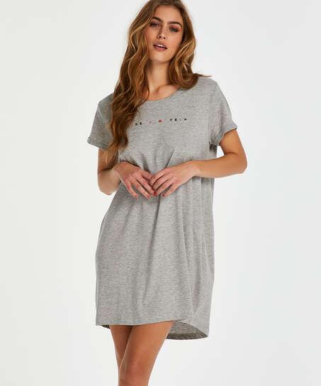 Siesta nightshirt, Grey