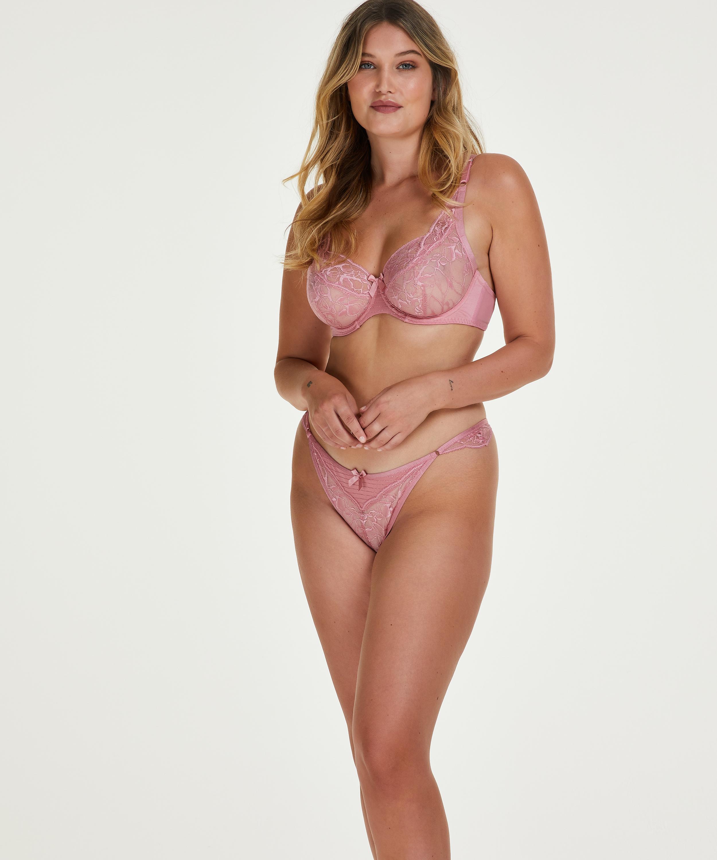 Marit non-padded underwire bra, Pink, main