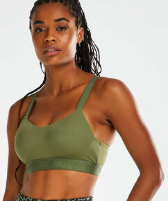 HKMX Sports bra The All Star Level 2, Green
