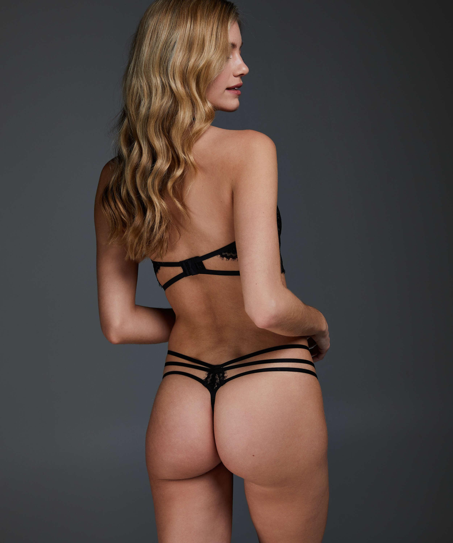 Eve thong, Black, main
