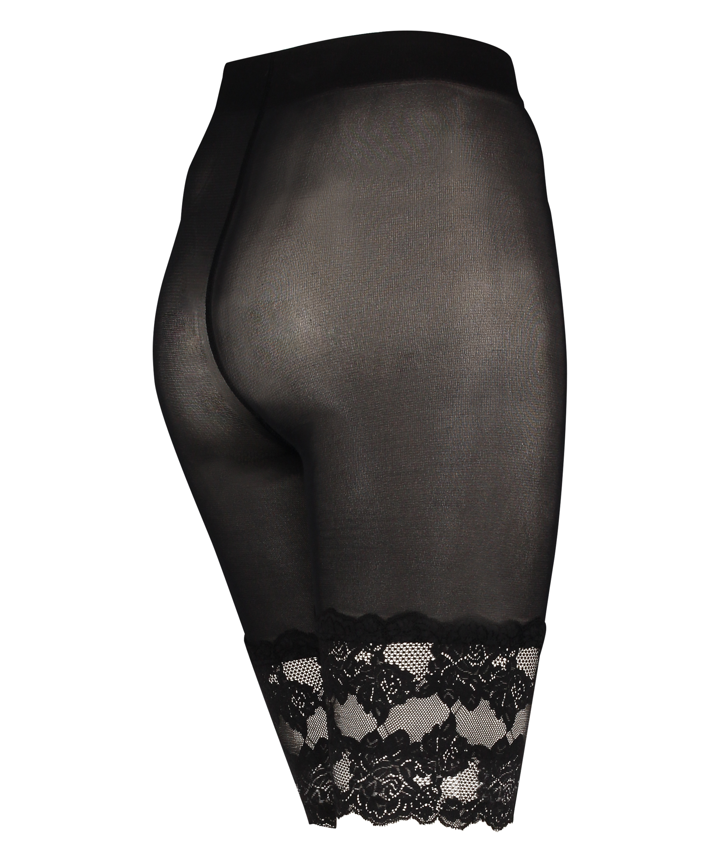 Anti Chafing Lace Shorts, Black, main