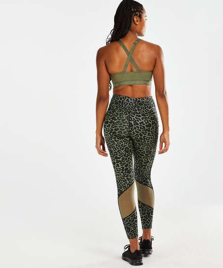 HKMX Oh My Squat High Waisted Leggings, Green