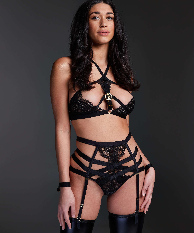 Ivy Bralette, Black, main