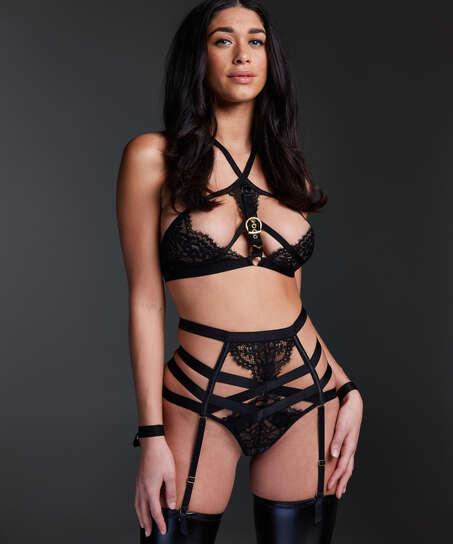 Ivy Bralette, Black