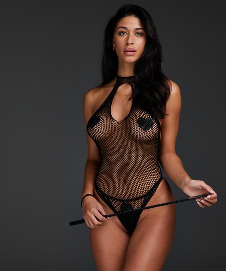 Private Bodysuit, Black