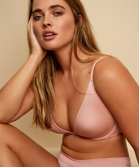Soft non-padded underwired bra, Pink