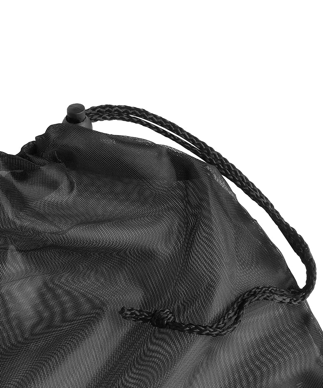 Hosiery bag drawstring, Black, main