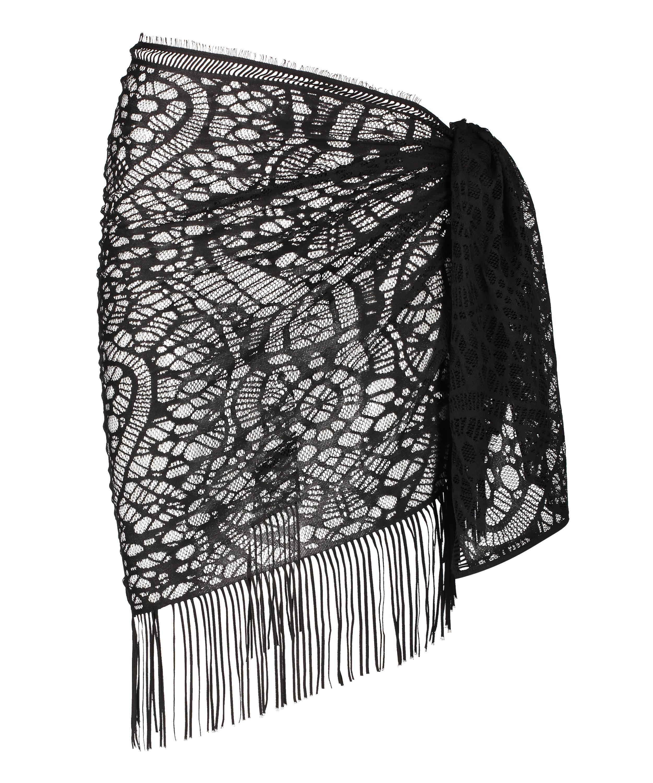 Pareo Crochet, Black, main