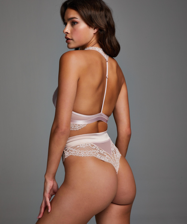 Amelia Bralette, Pink, main