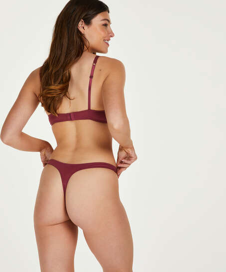 Secret Lace Thong, Red