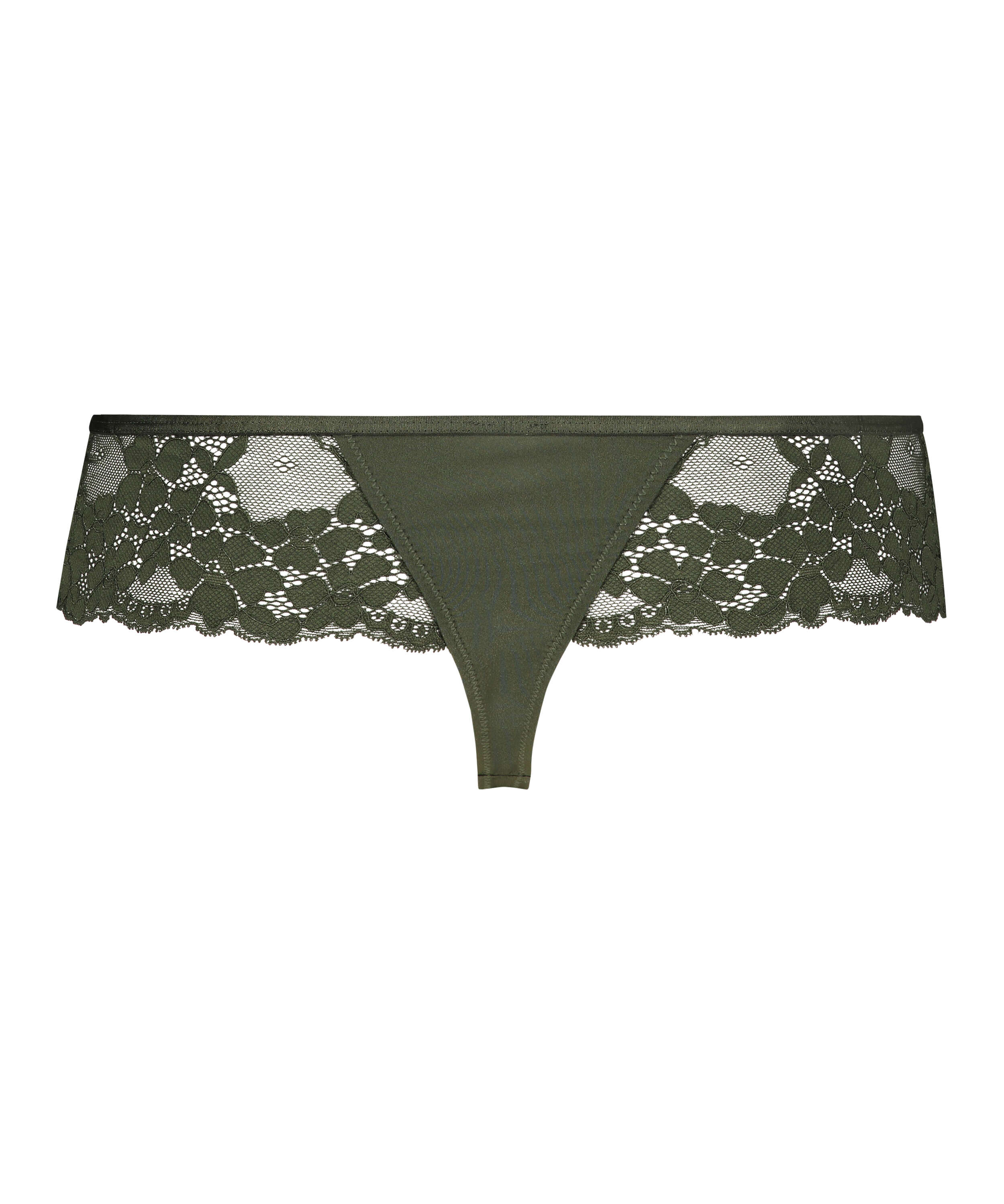 Nellie Thong Boxers, Green, main