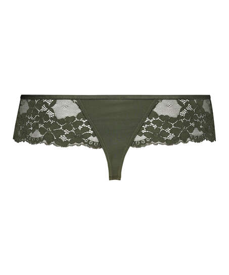 Nellie Thong Boxers, Green