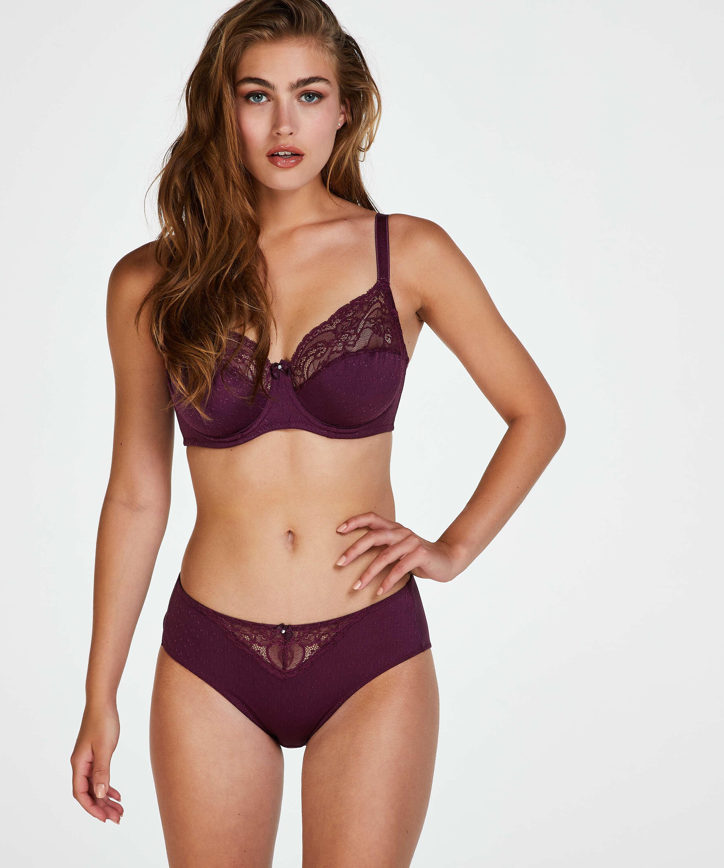 Sophie high knickers, Purple, main