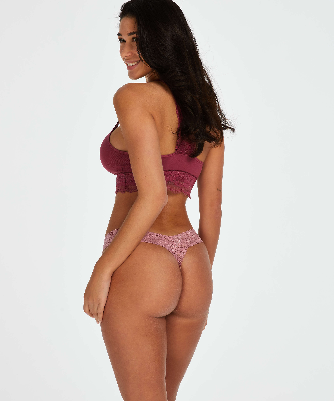 Extra Low V-Thong, Purple, main