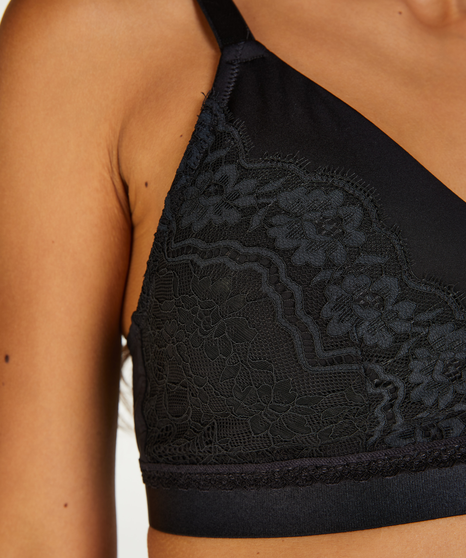 Erica prosthetic underwireless bra, Black, main