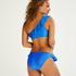 Suze Crop Bikini Top, Blue