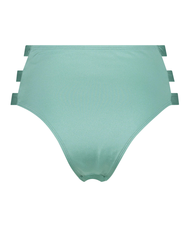 SoCal Brazilian high bikini bottoms, Green, main