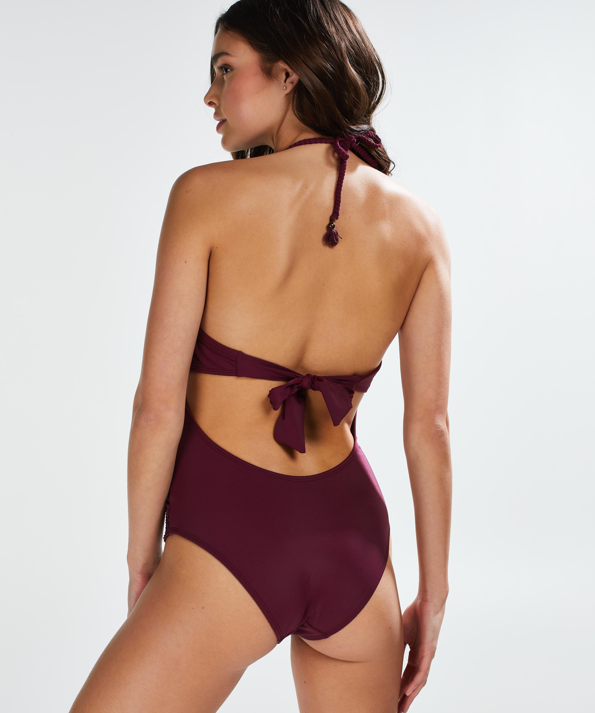 Borneo Mesh Swimsuit, Purple, main