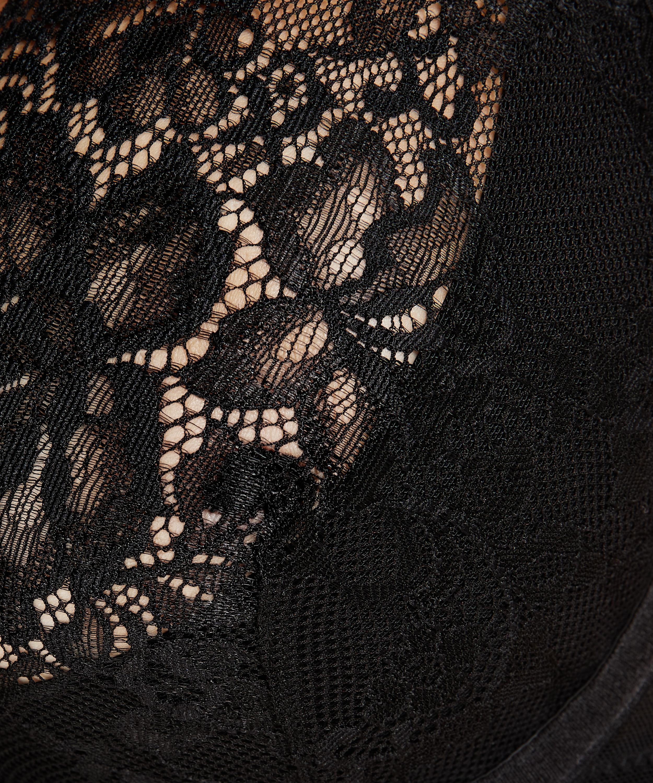 Latisha Non-Padded Underwired Bra, Black, main