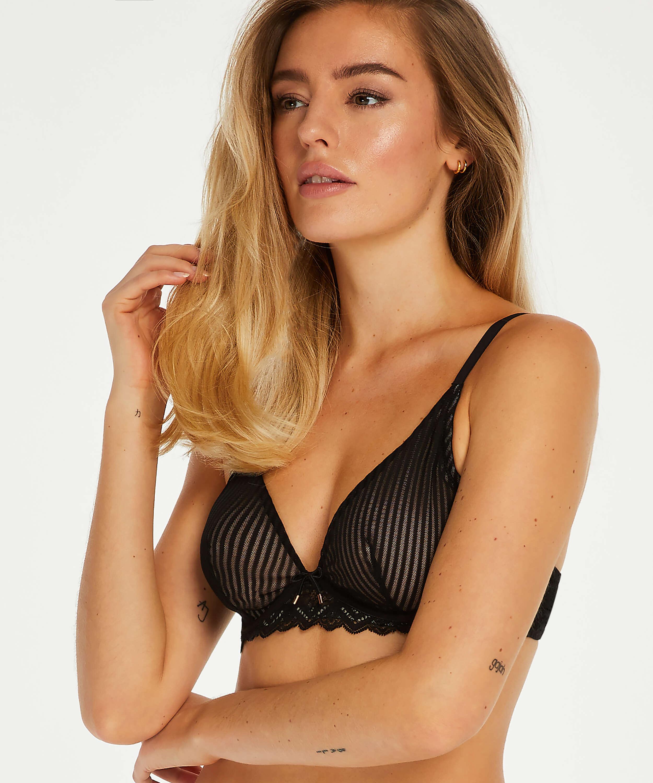 Lenix non-padded underwired bra I AM Danielle Cup B - D, Black, main