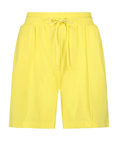 Snuggle Me Bermuda Shorts, Yellow