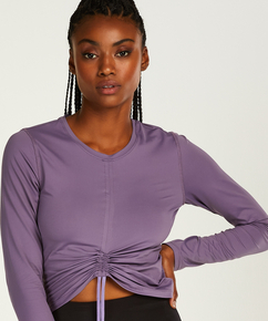HKMX Long-sleeved sports top Aura, Purple