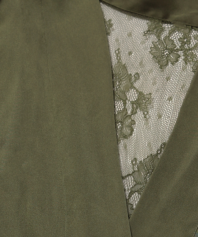 Kimono Satin Lily, Green, main