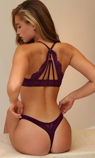 Melissa thong, Purple