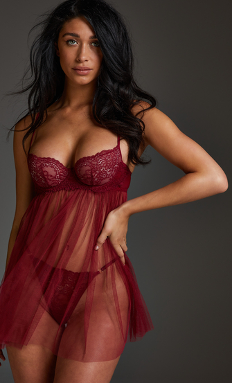 Emily Babydoll, Red