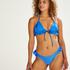 Suze Triangle Bikini Top, Blue