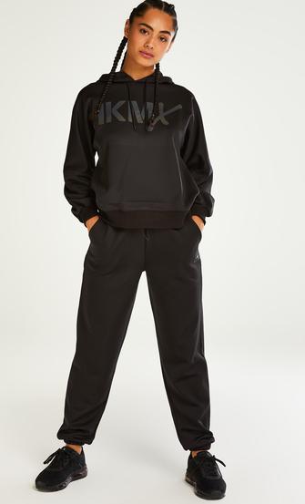 HKMX Ruby High Waisted Joggers, Black