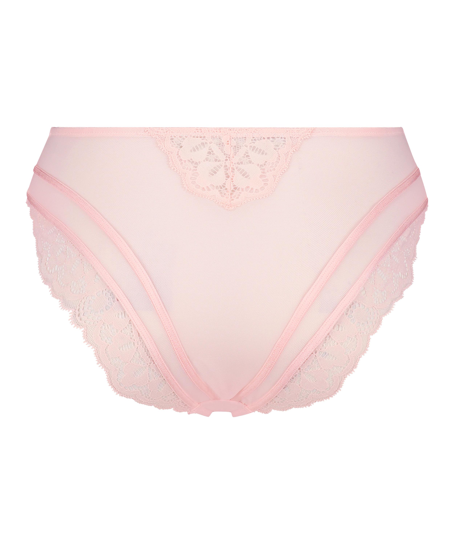 Elle high Brazilian, Pink, main