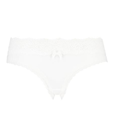 Dakota Brazilian Shorts, White
