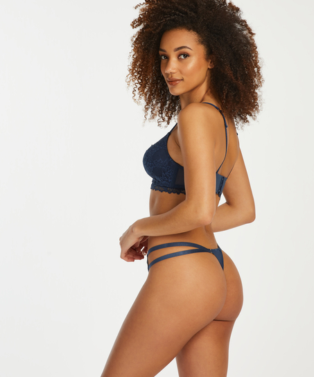 Halle thong, Blue