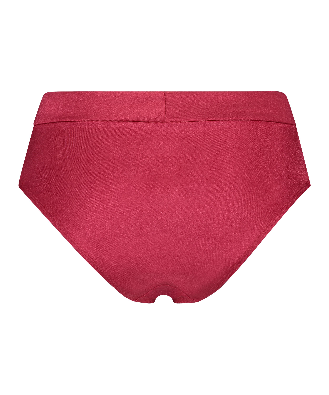 Lola High Bikini Bottoms, Red, main