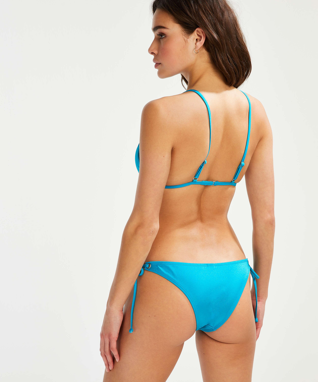 Celine Brazilian tanga bikini bottoms, Blue, main