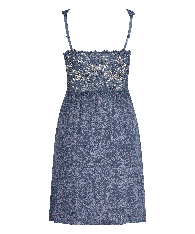 Nora Slip Dress, Blue, main
