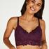 Shiloh non-padded non-wired nursing bra, Purple