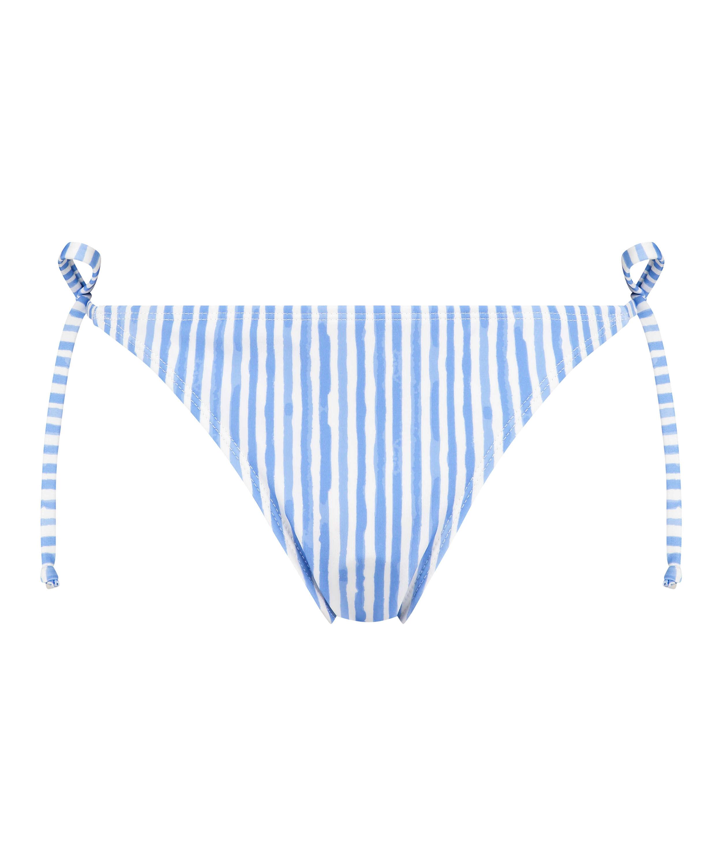 Julia Thong Bikini Bottoms, Blue, main