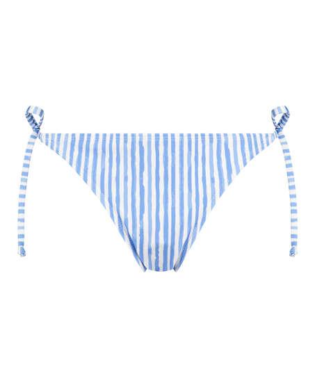 Julia Thong Bikini Bottoms, Blue