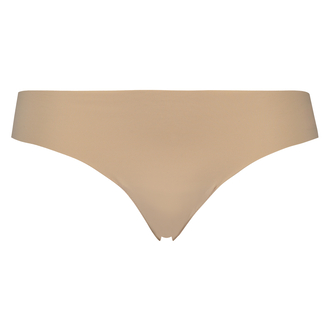 Invisible thong basic, Beige