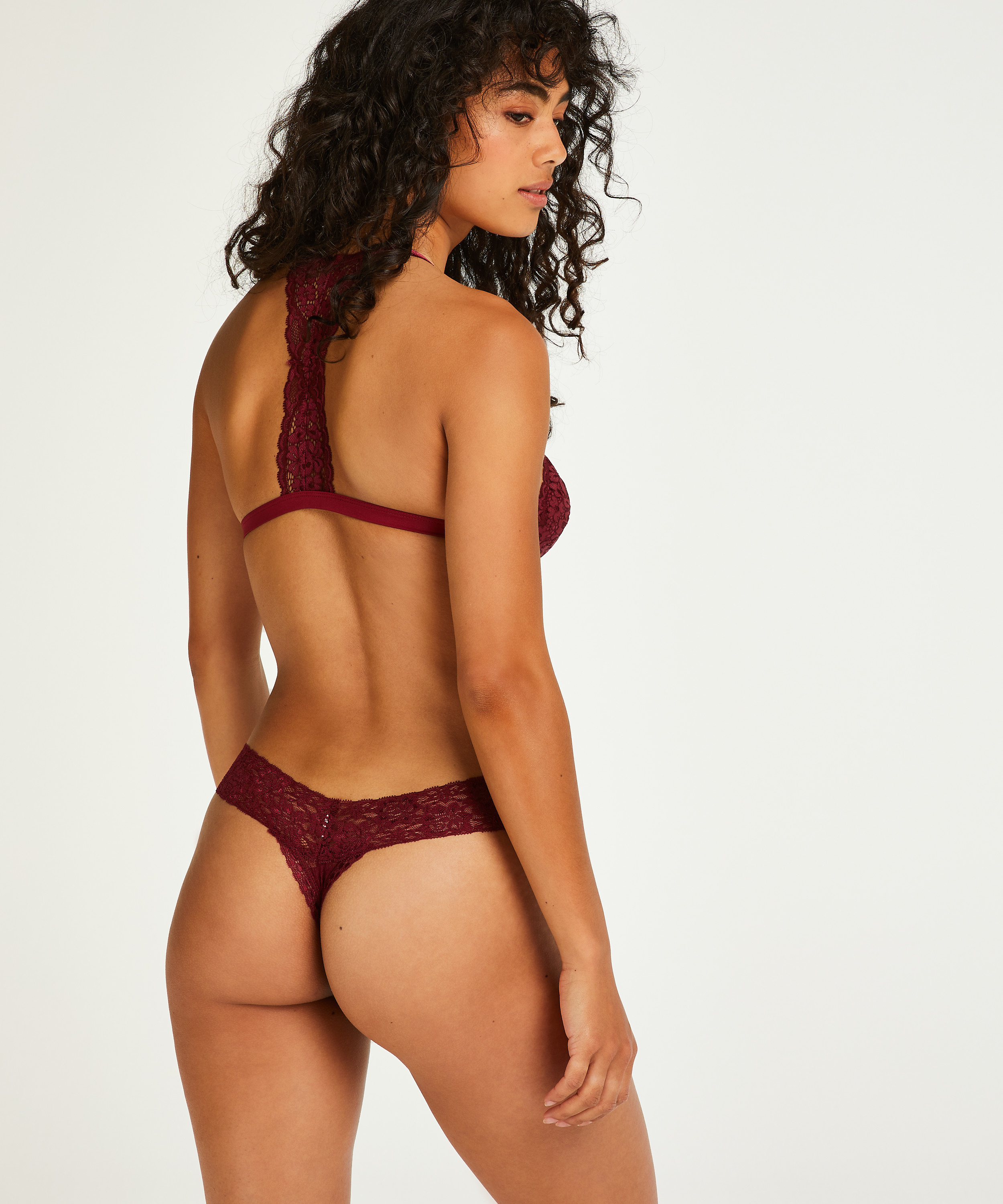 Extra Low V-Thong, Red, main