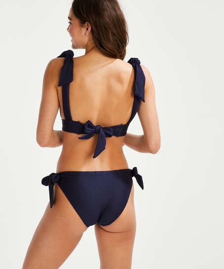 Harper triangle bikini top , Blue