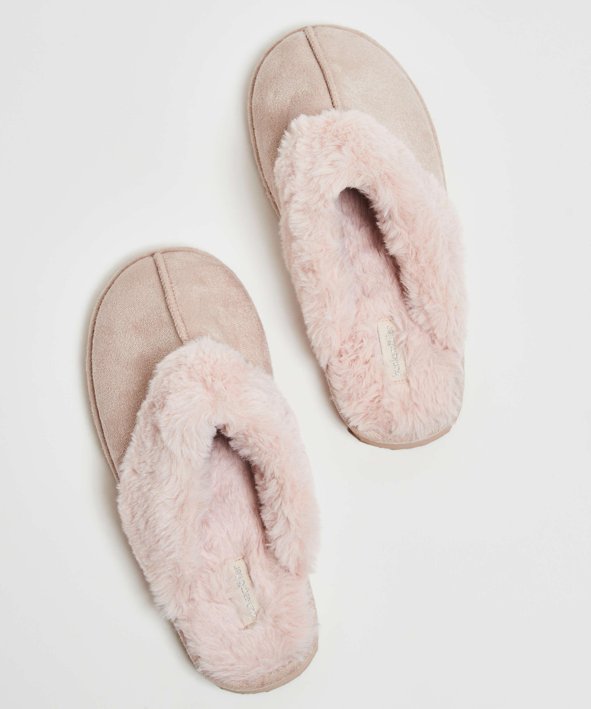 Slippers , White, main
