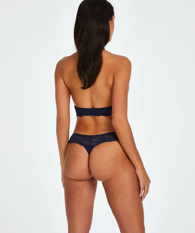 Bianca Boxer Thong, Blue, main