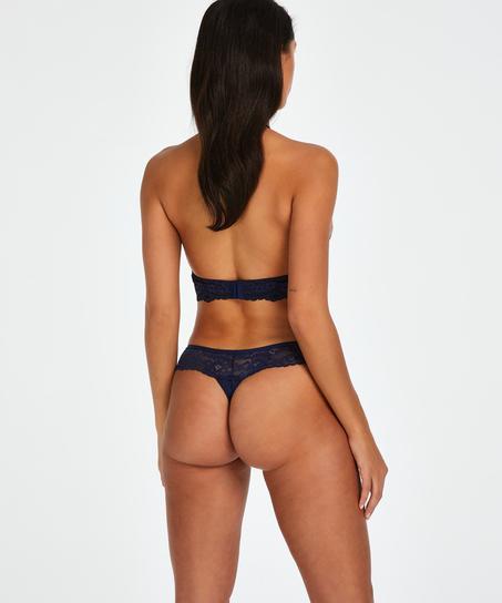 Bianca Boxer Thong, Blue