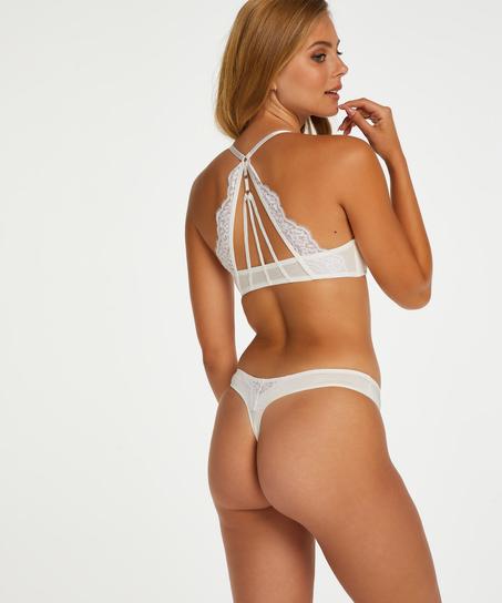 Melissa thong, White