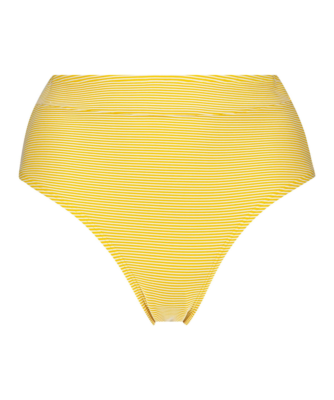 Carmel Brazilian high bikini bottoms, Yellow, main