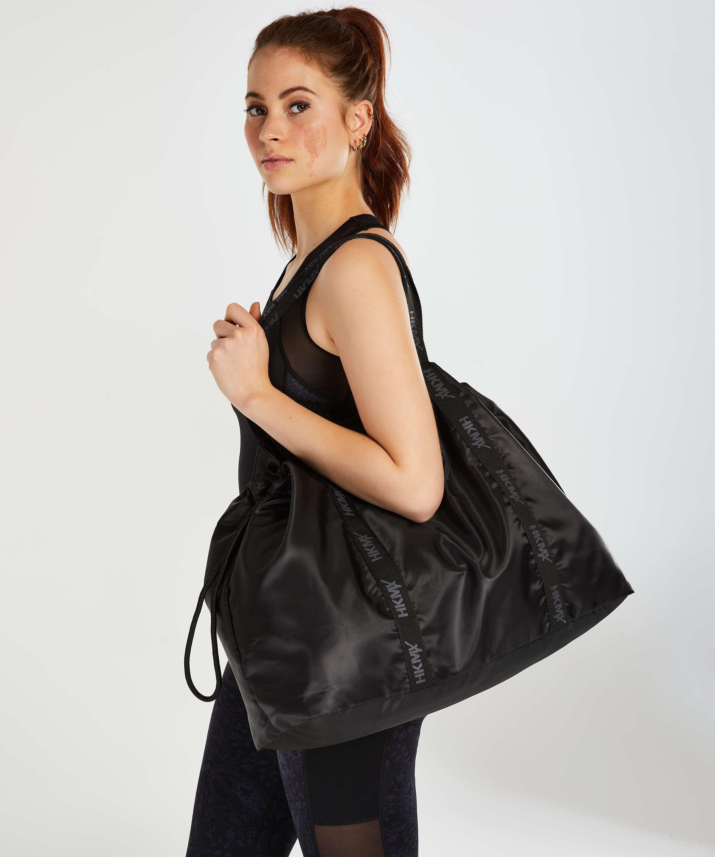HKMX Tote bag, Black, main