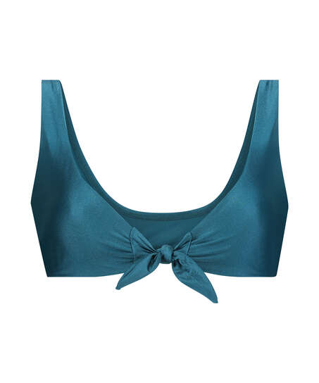 Brokopondo triangle bikini top I AM Danielle, Blue